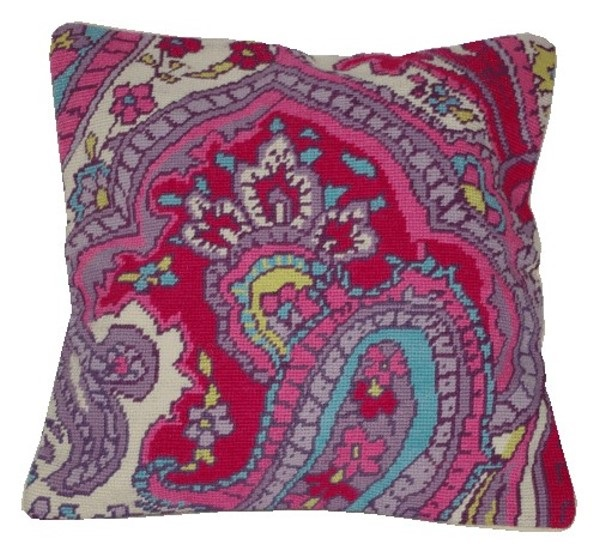 Anette Eriksson Paisley Value Cushion Front Cross Stitch Kit