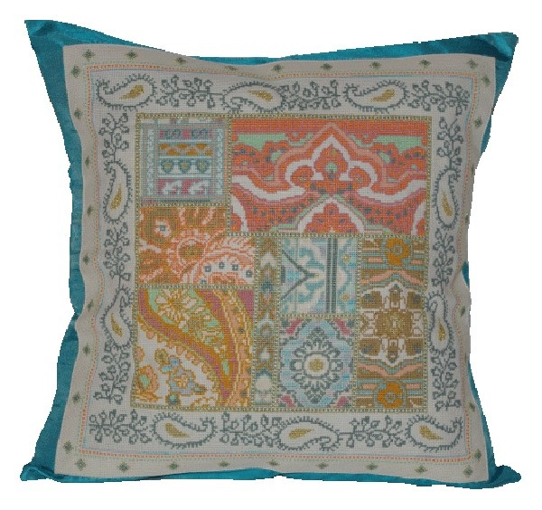 Anette Eriksson Resort Premium Cushion Kit Cross Stitch