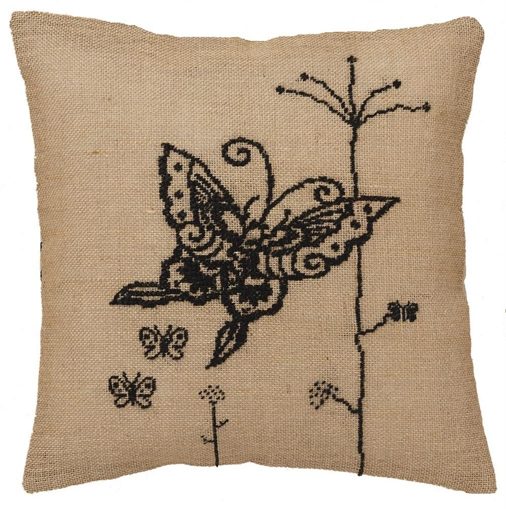 Butterfly Premium Cushion Kit -  Cross Stitch Kit