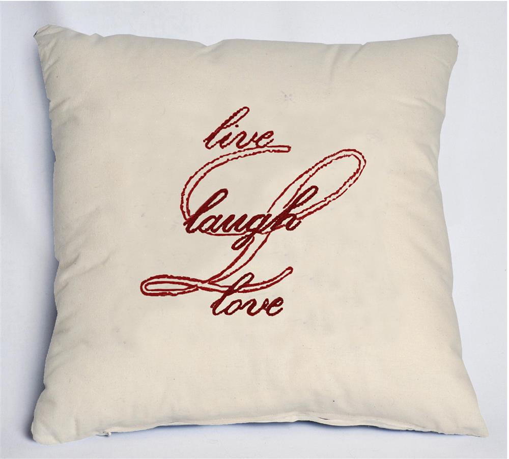Anette Eriksson The Big L Value Cushion Front Embroidery Kit