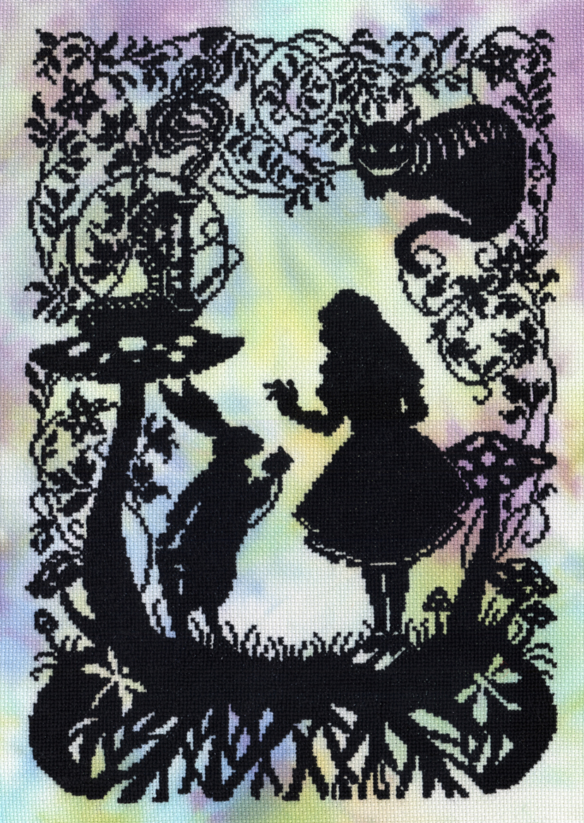 Alice in Wonderland -  Cross Stitch Kit