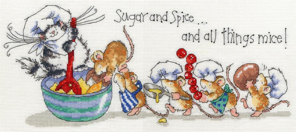 Bothy Threads Sugar and Spice Cross Stitch Kit