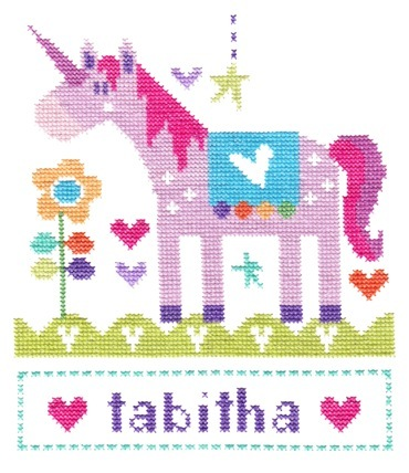 Stitching Shed Unicorn Cross Stitch Kit