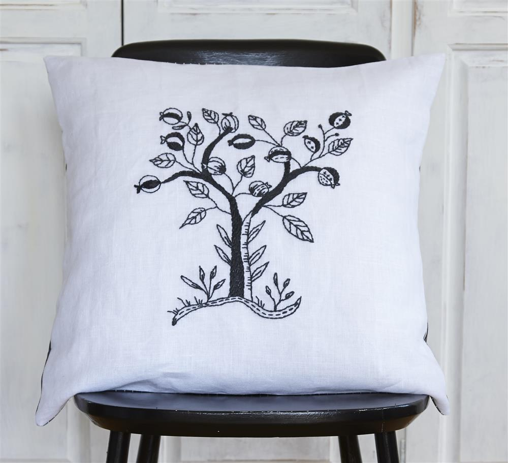 Anette Eriksson Mono Tree Premium Cushion Kit Embroidery