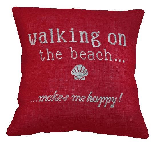 Summer Value Cushion Front -  Cross Stitch Kit