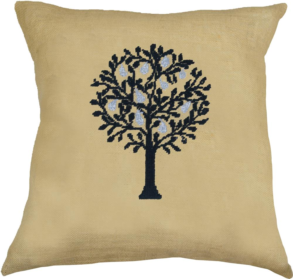 Anette Eriksson Pear Tree Value Cushion Front Cross Stitch Kit