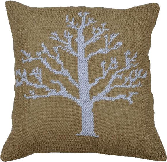 Anette Eriksson Snow Tree Value Cushion Front Cross Stitch Kit