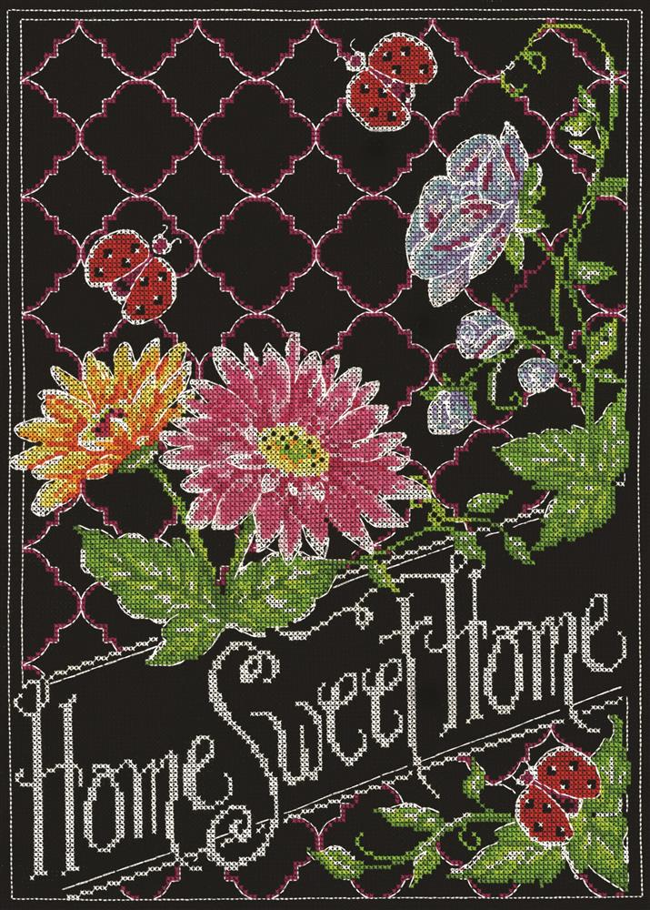 Design Works Crafts Home Sweet Home Cross Stitch Kit