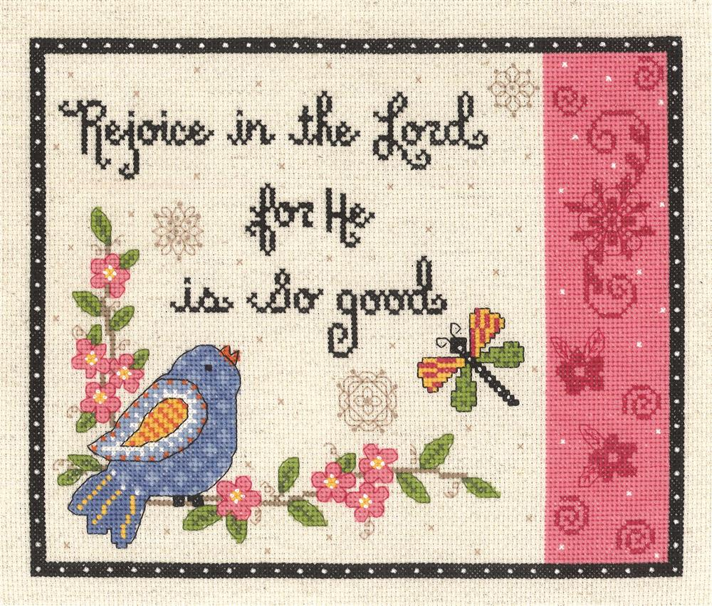 Rejoice in the Lord -  Cross Stitch Kit