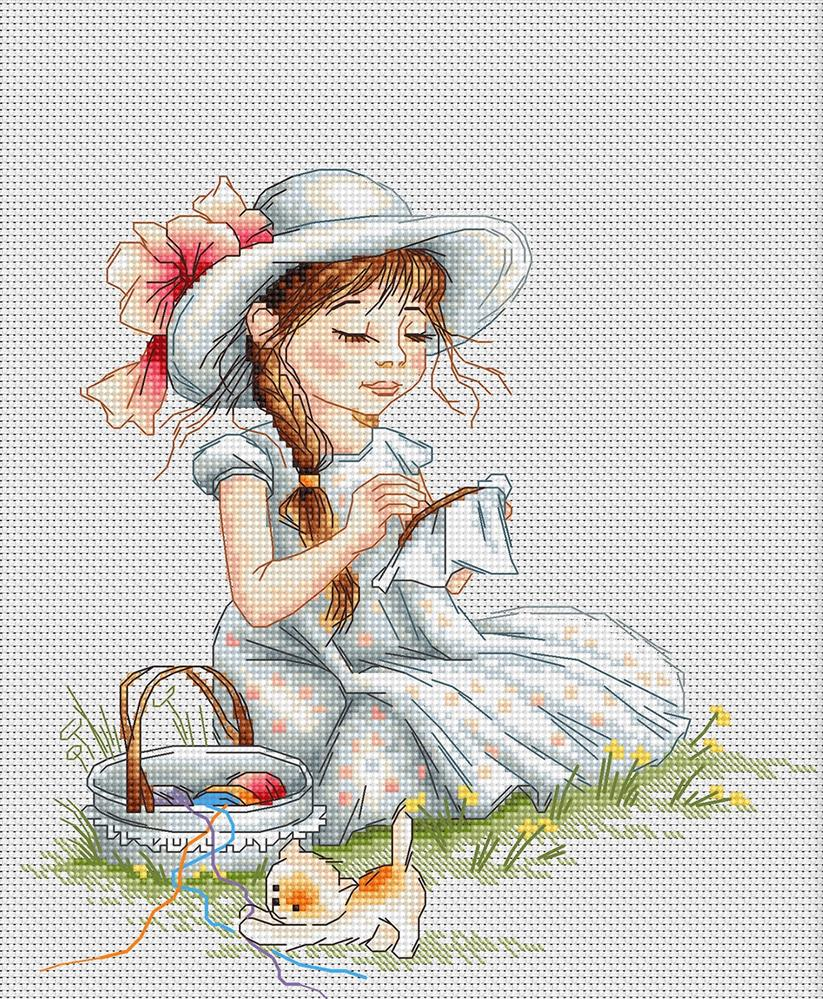 Luca-S Embroidery Cross Stitch Kit