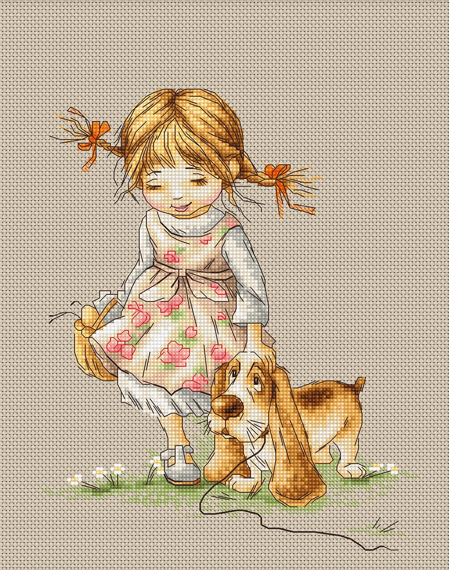 Walk -  Cross Stitch Kit