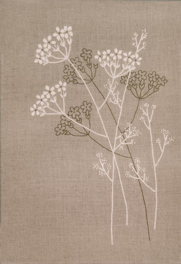 Queen Anne's Lace -  Embroidery Kit