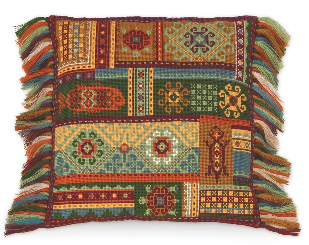 RIOLIS Terra Cushion Cross Stitch Kit