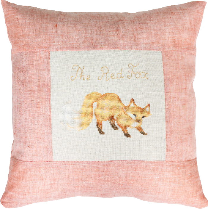 Luca-S Red Fox Pillow Cross Stitch Kit