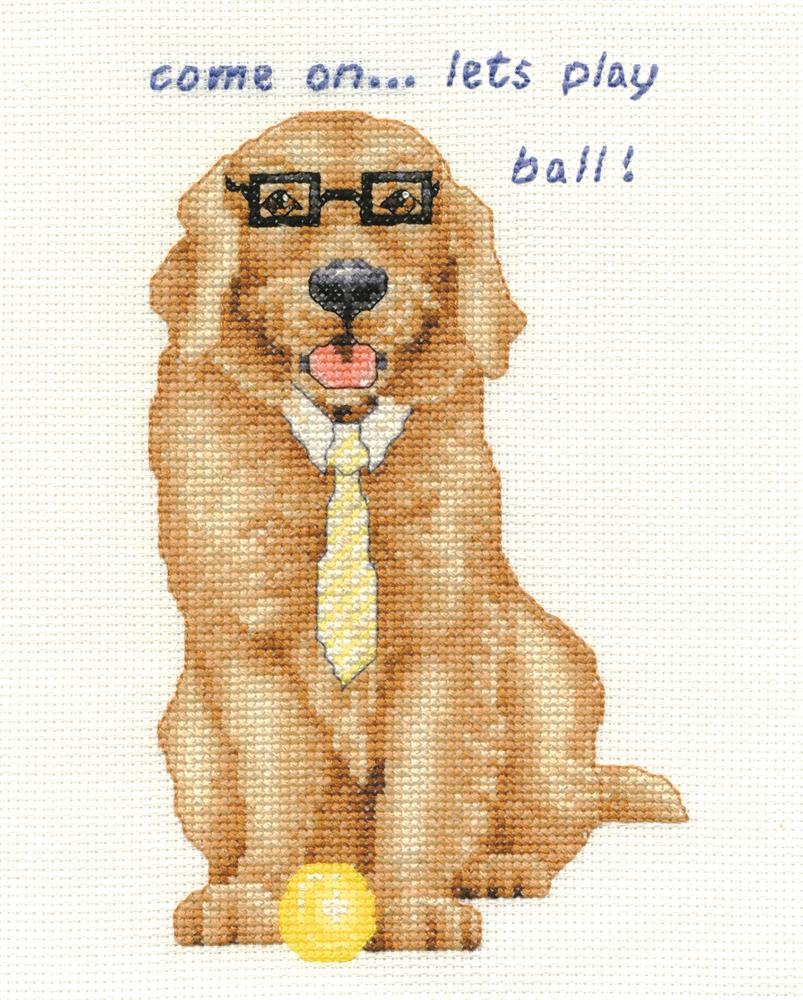 Golden Retriever -  Cross Stitch Kit