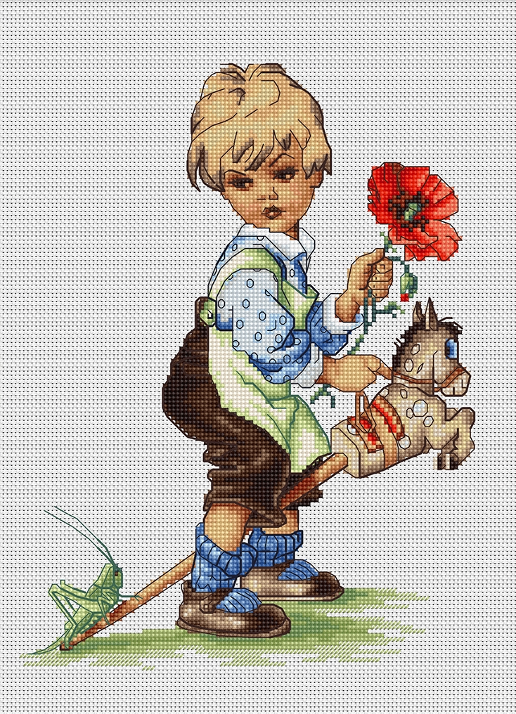 Hobbyhorse -  Cross Stitch Kit