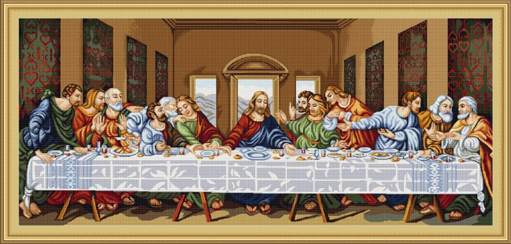 Luca-S The Last Supper Cross Stitch Kit