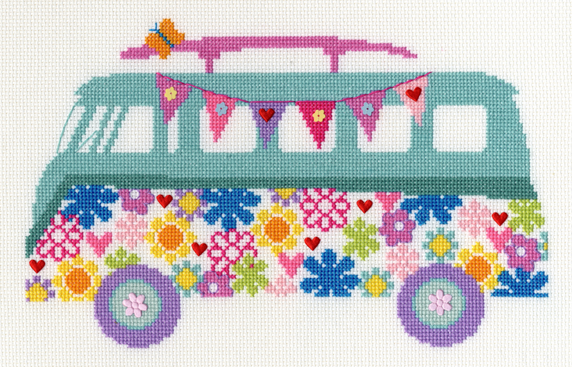 Van Bouquet -  Cross Stitch Kit