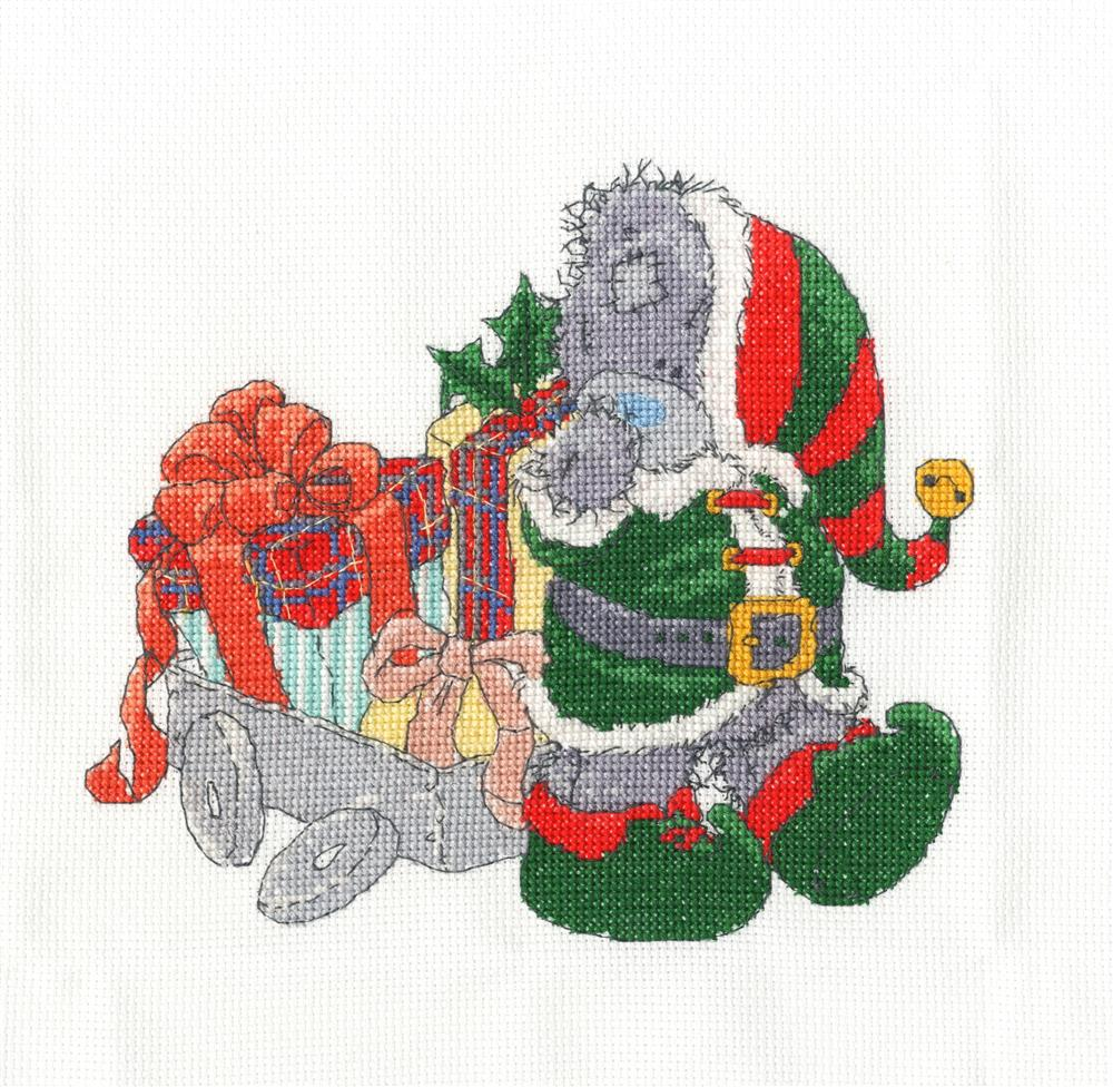 Delivering Christmas Gifts -  Christmas Cross Stitch Kit