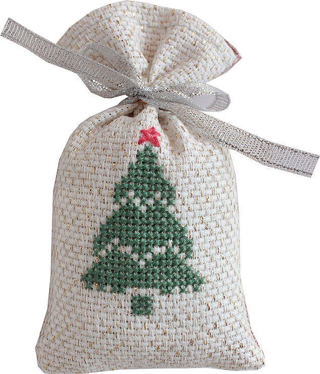 Luca-S Christmas Tree Bag Cross Stitch Kit
