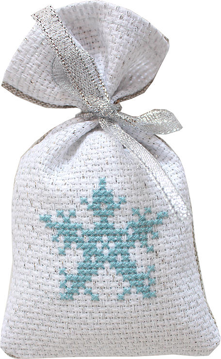 Snowflake Bag -  Christmas Cross Stitch Kit