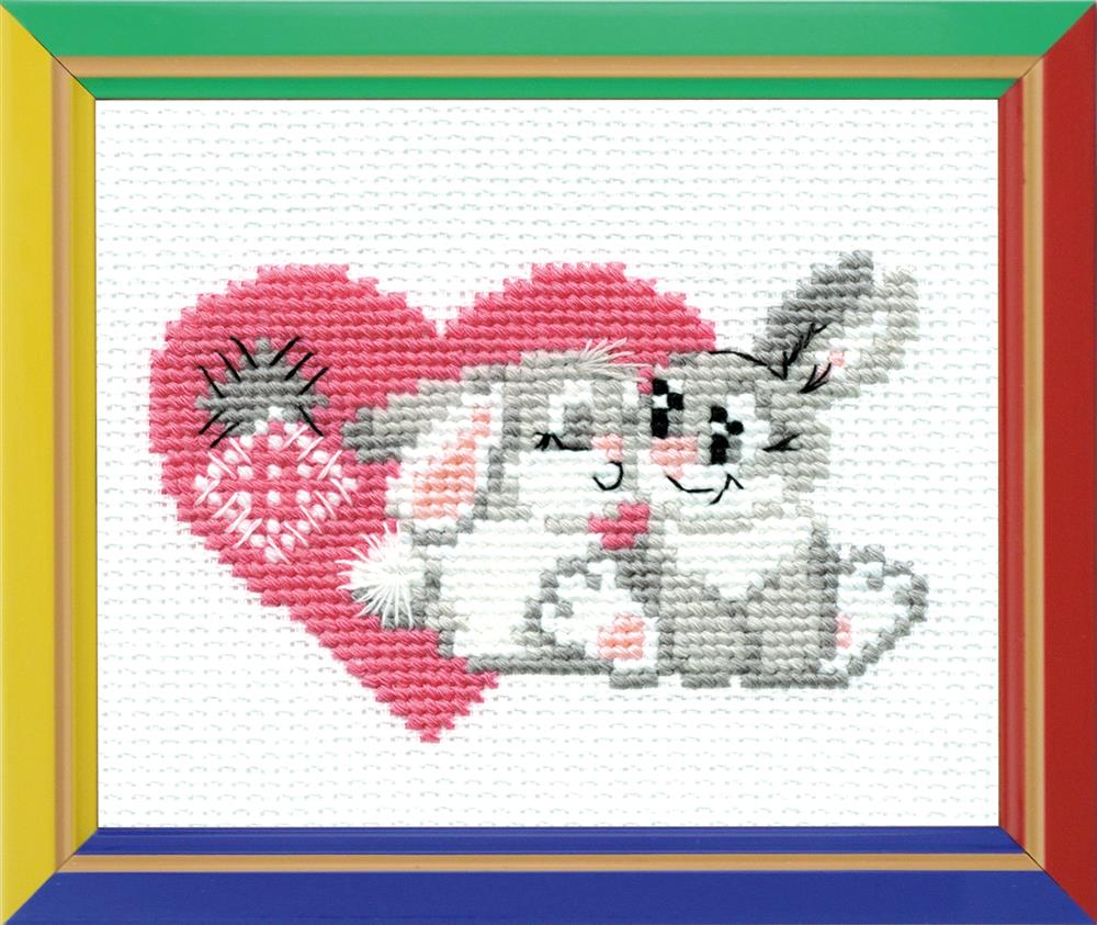 You Are My Sweetheart -  Cross Stitch Kit