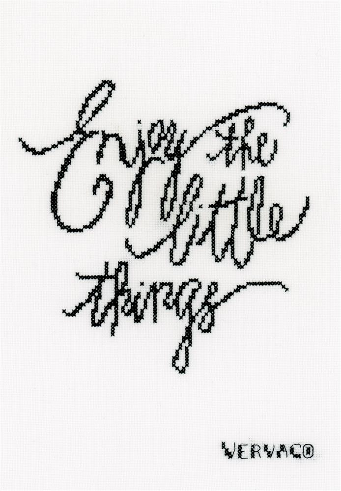 Vervaco Enjoy the Little Things Cross Stitch Kit