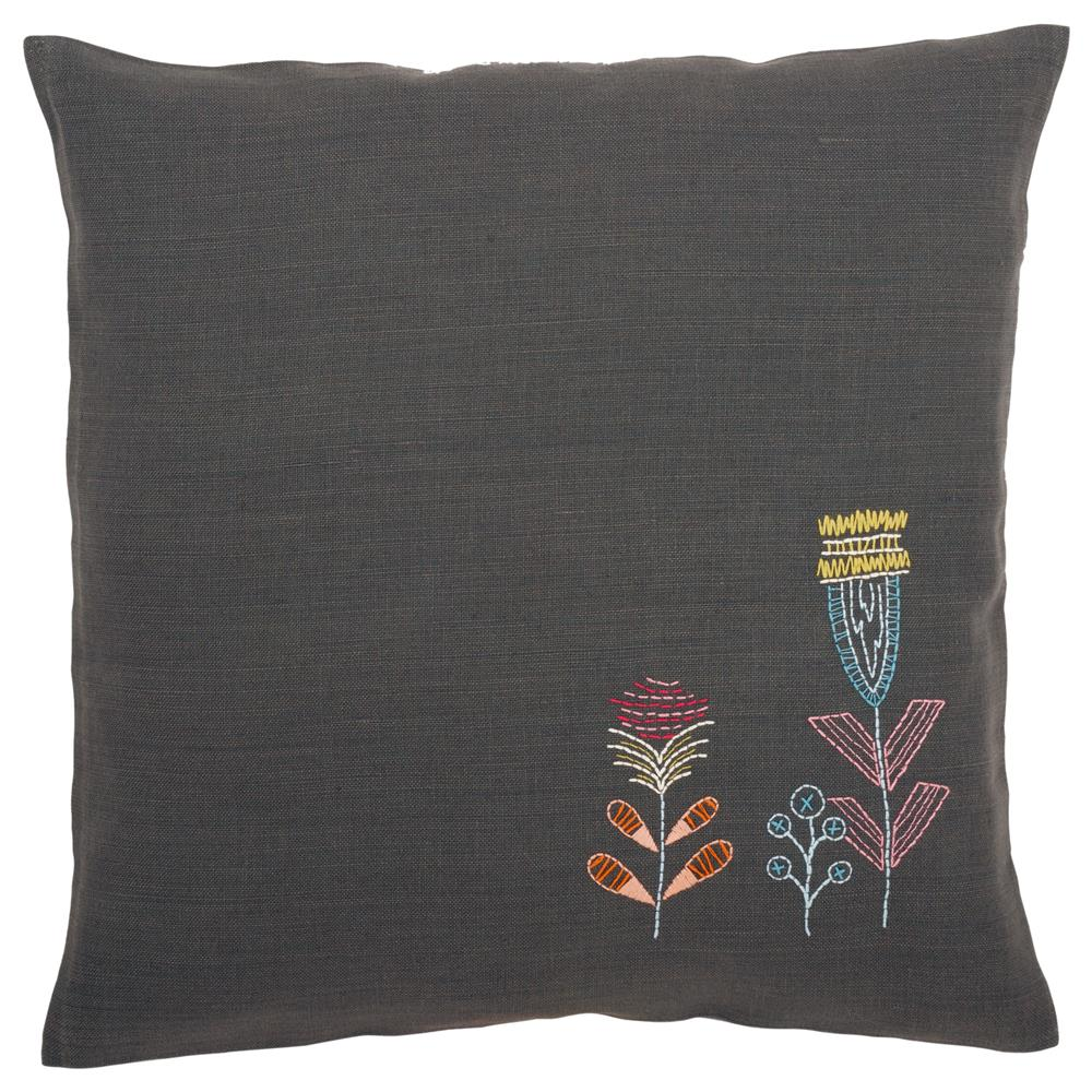 Vervaco Flowers Cushion Embroidery Kit