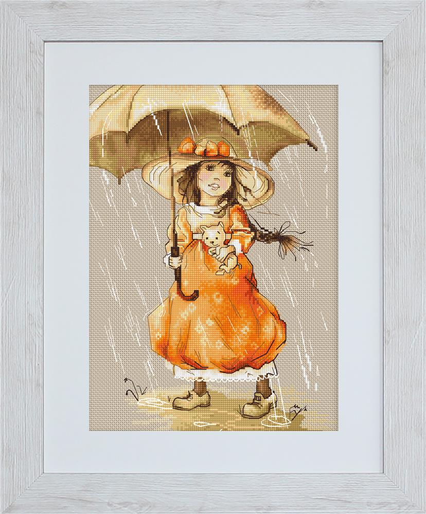 Umbrella -  Cross Stitch Kit