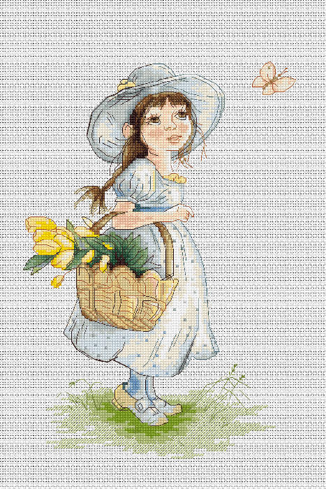 Tulips -  Cross Stitch Kit