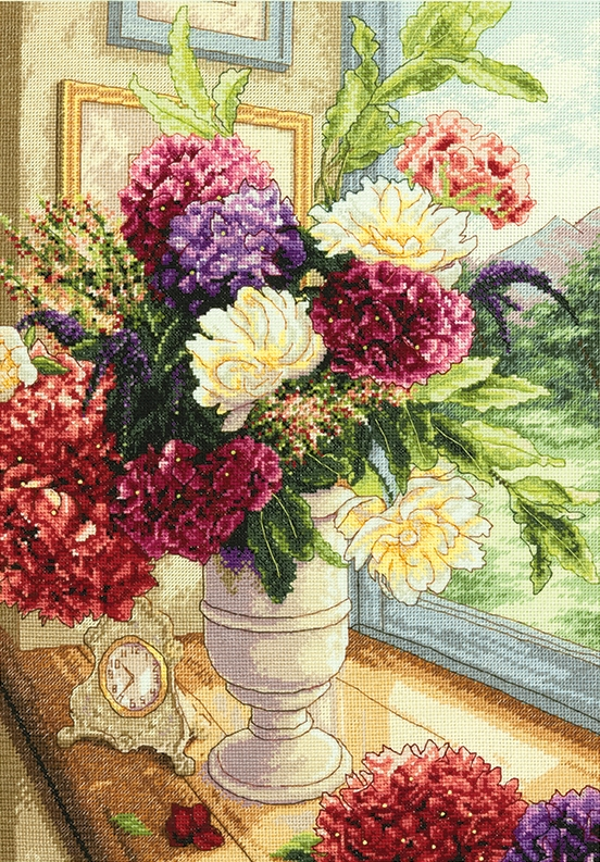 Summer Bouquet -  Cross Stitch Kit