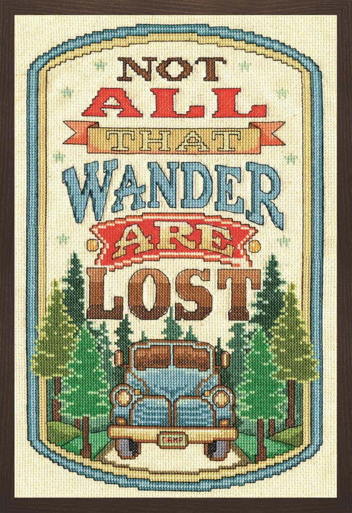 Design Works Crafts All That Wander Cross Stitch Kit