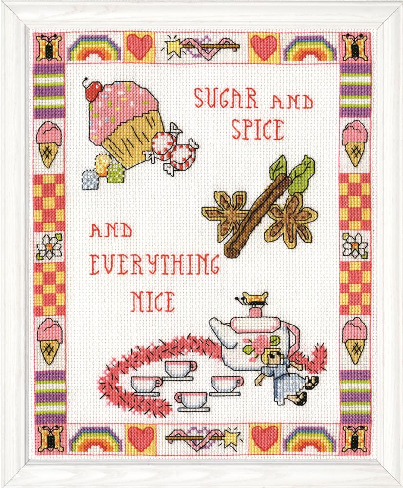 Sugar and Spice -  Cross Stitch Kit