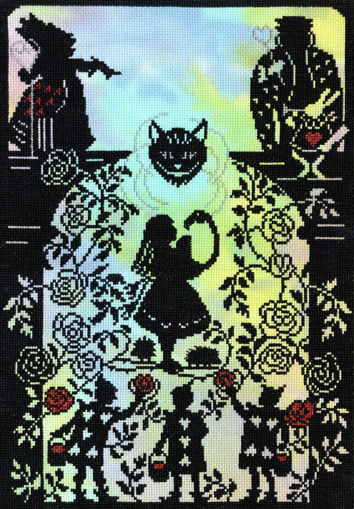 Painting the Roses -  Cross Stitch Kit