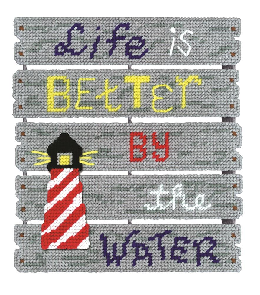 By The Water -  Cross Stitch Kit