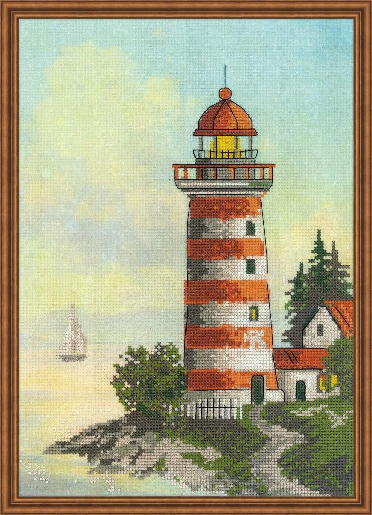 Lighthouse -  Cross Stitch Kit