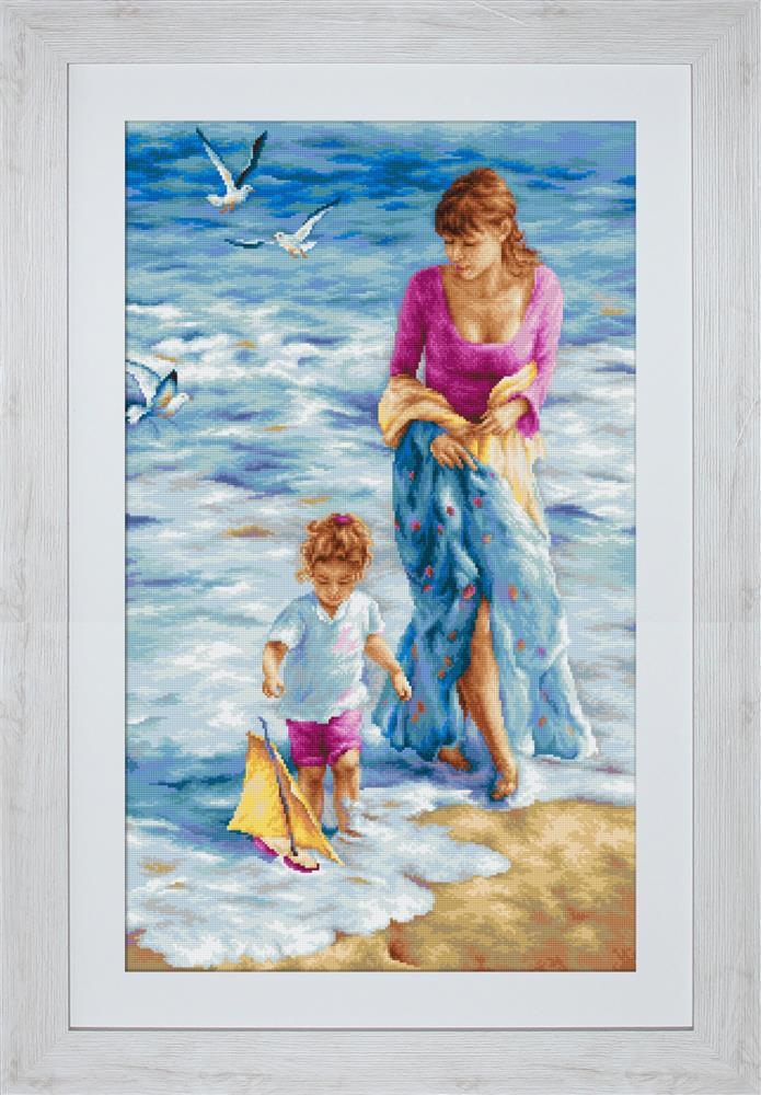 Luca-S Precious Moment Cross Stitch Kit