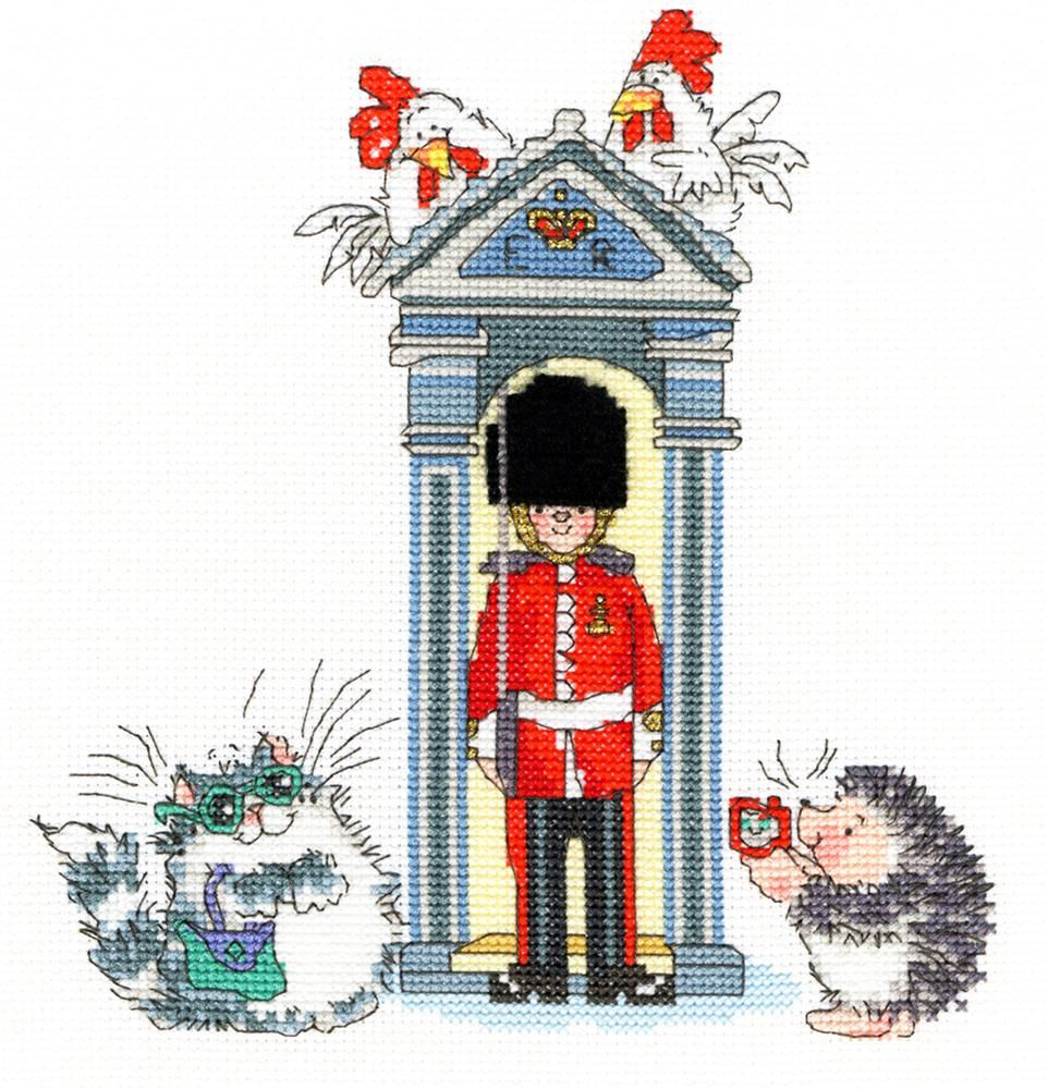 Bothy Threads London on Parade Cross Stitch Kit