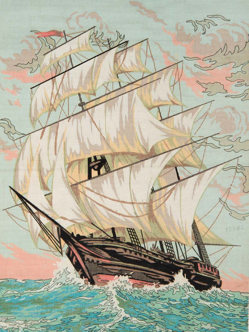 Clipper Speed -  Tapestry Canvas