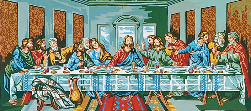 The Last Supper -  Tapestry Canvas