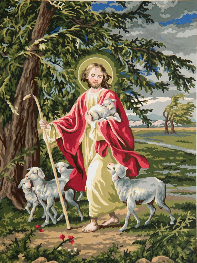 Grafitec The Lord is Our Shepherd Tapestry Canvas
