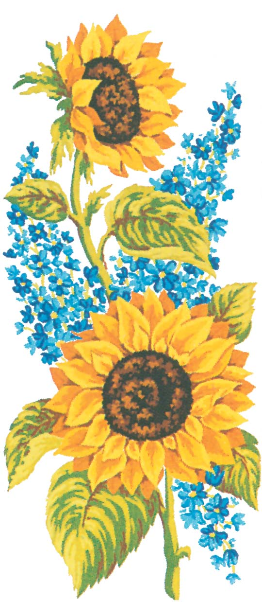 Grafitec Sunflowers Tapestry Canvas