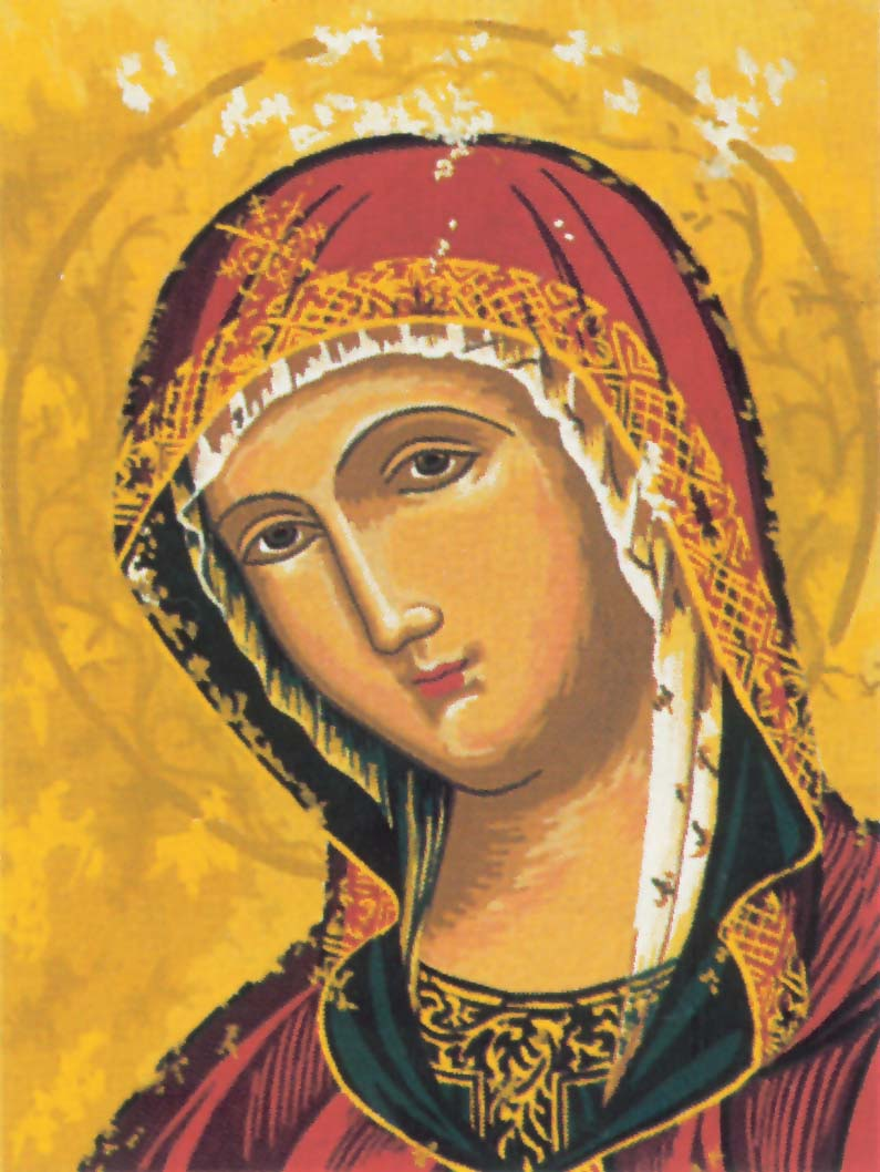 Our Lady of Consolation -  Tapestry Canvas