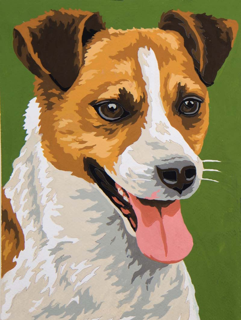 Terrier -  Tapestry Canvas