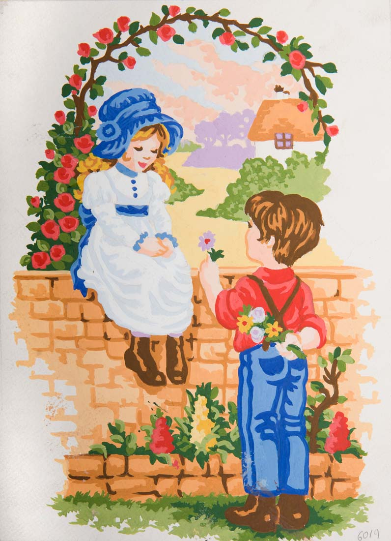 Grafitec Sweethearts Tapestry Canvas