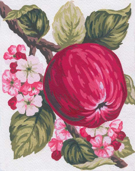 Apple -  Tapestry Canvas