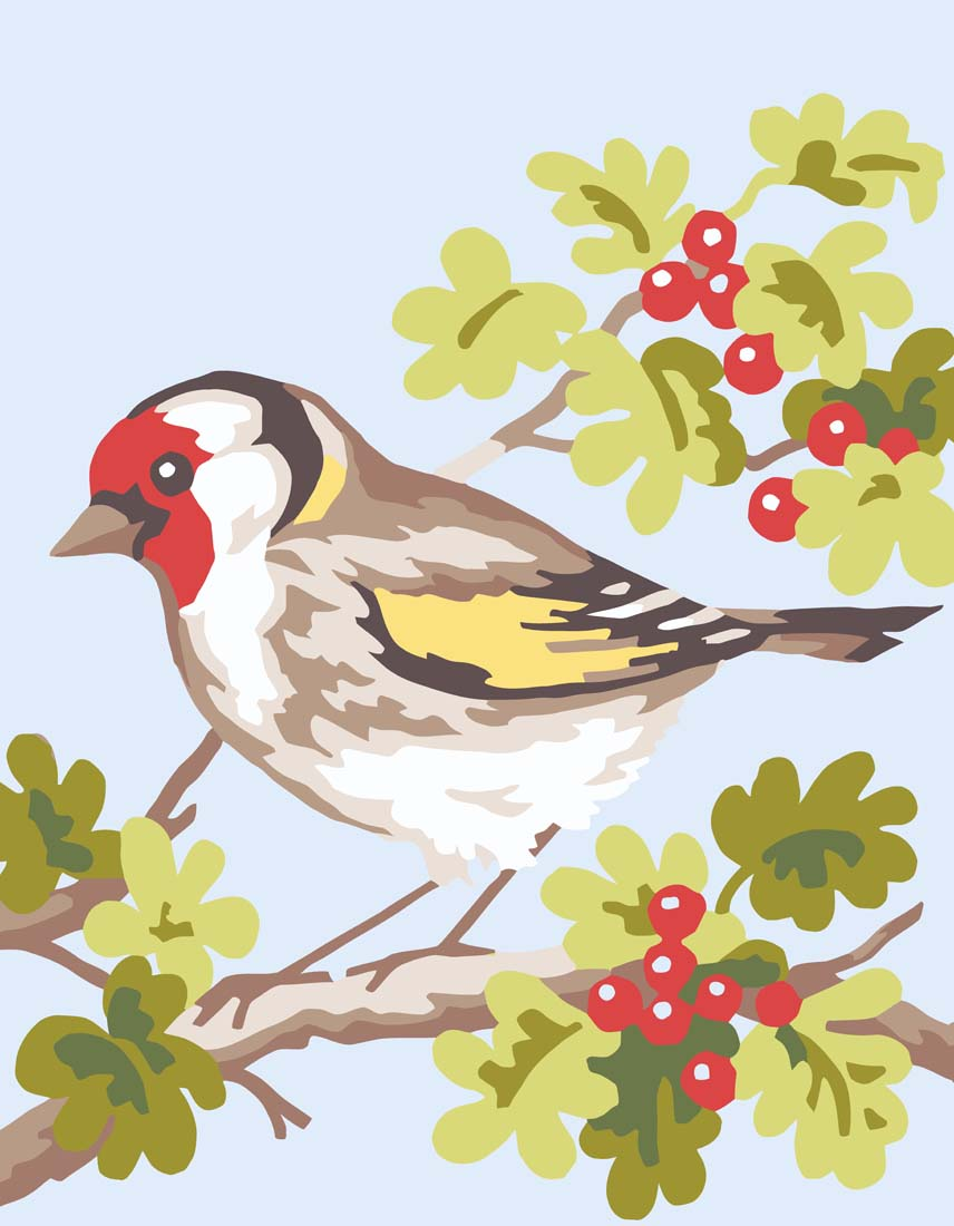 Grafitec Finch Tapestry Canvas