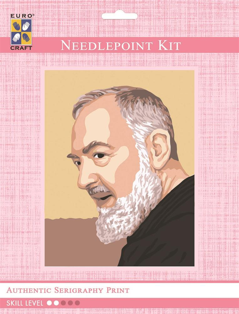 Padre Pio Profile -  Tapestry Kit