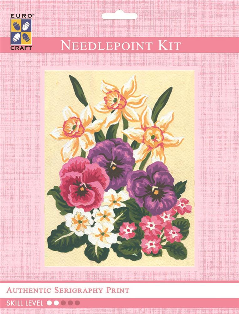 Daffodils and Pansies -  Tapestry Kit