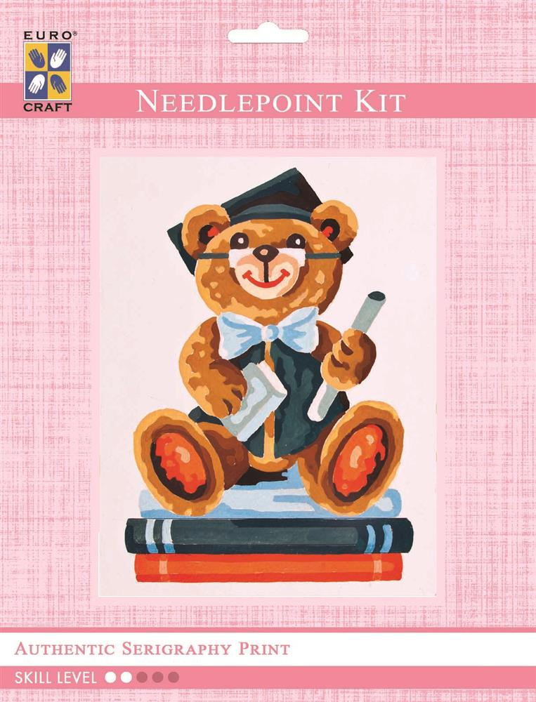 Graduation Bear -  Tapestry Kit